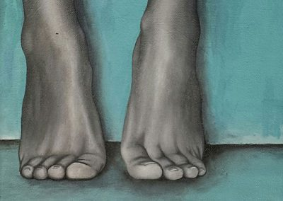 Maleri af fødder